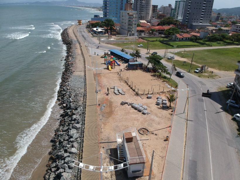 Orla do Gravatá ganha ar modernizado com revitalização da Praça da Praia