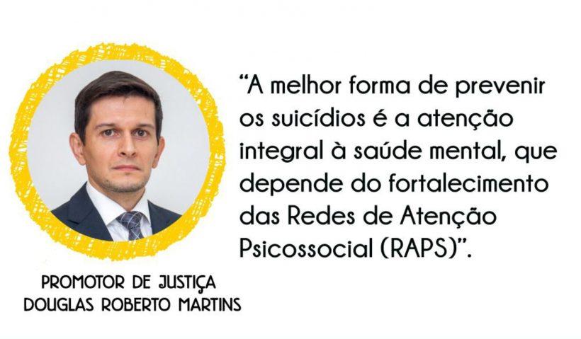 Promotor de Justiça Douglas Roberto Martins