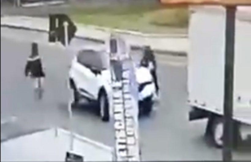 tentativa de roubo de veículo em Navegantes